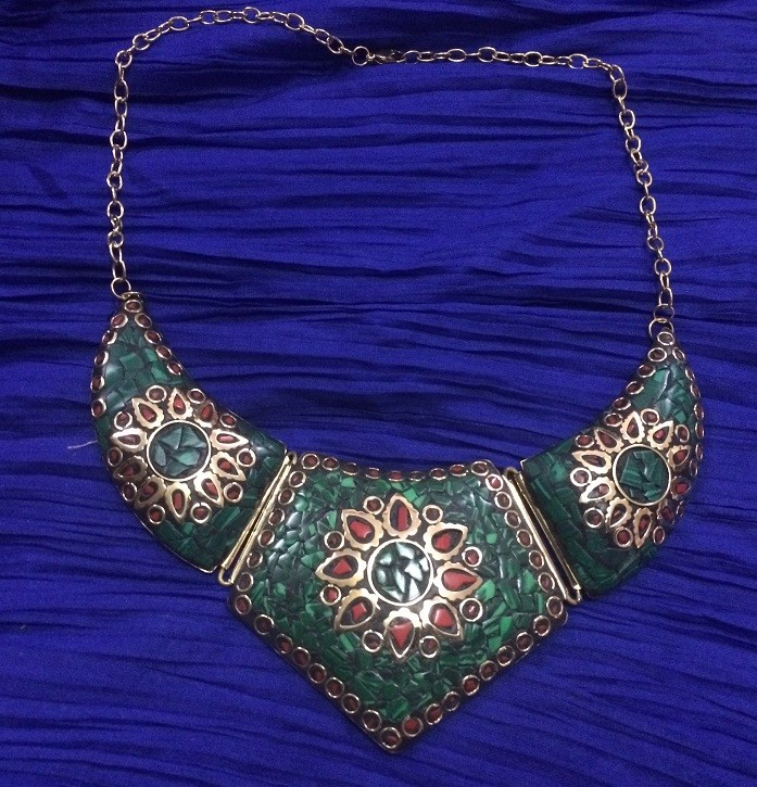 Tribal kuchi necklace 29