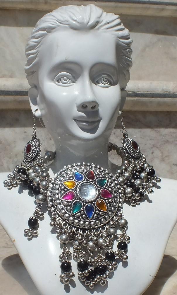 Tribal kuchi necklace 34