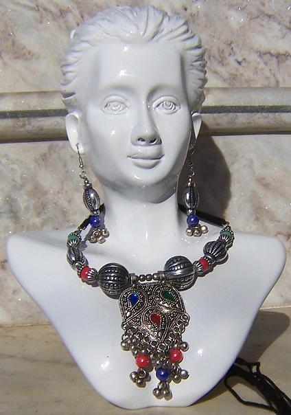 Tribal kuchi necklace 35