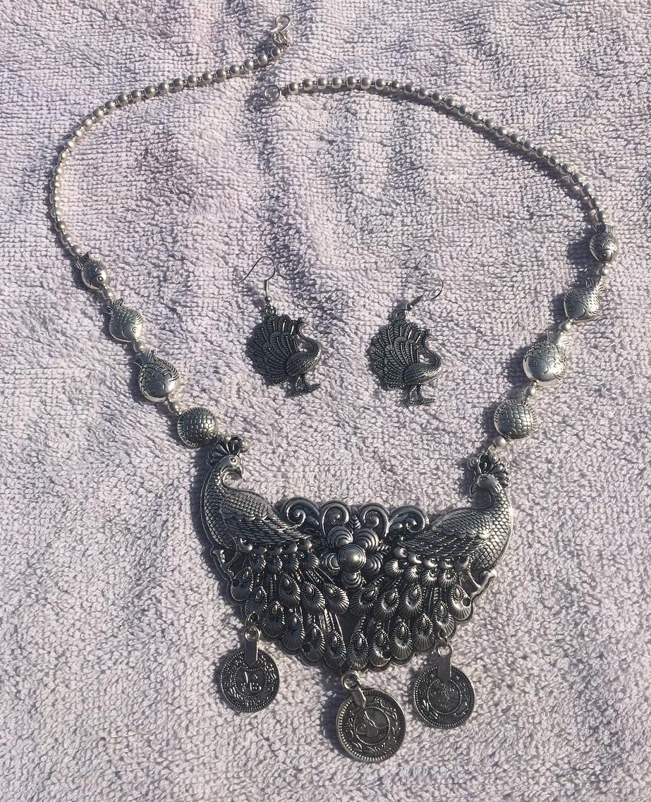 Tribal kuchi necklace 64