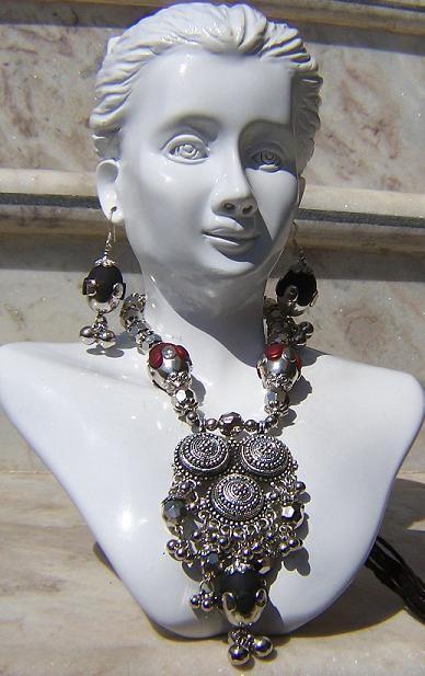 Tribal kuchi necklace 70
