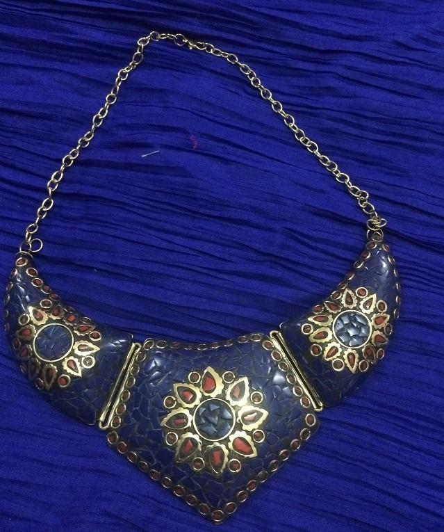 Tribal kuchi necklace 71