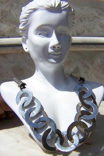 Tribal kuchi necklace 74