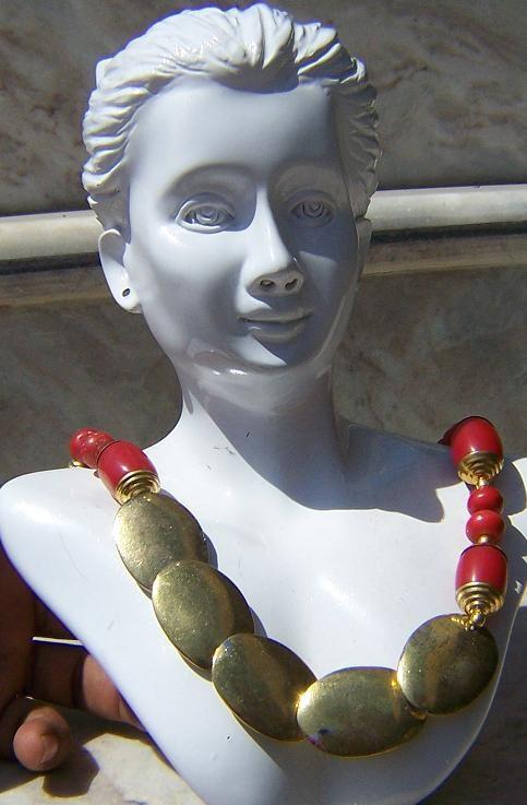 Tribal kuchi necklace 76