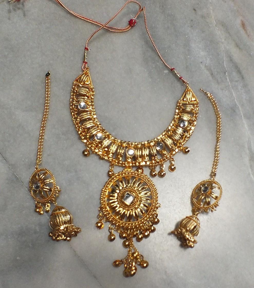 Tribal kuchi necklace 82