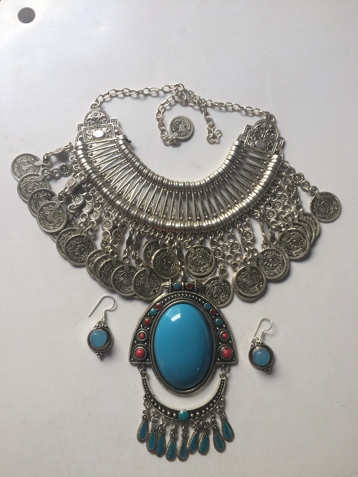 Tribal kuchi necklace 9
