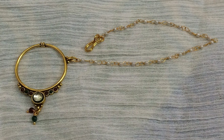 indian Nose chain 34