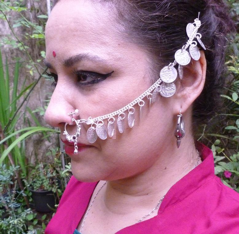 tribal Nose chain 5