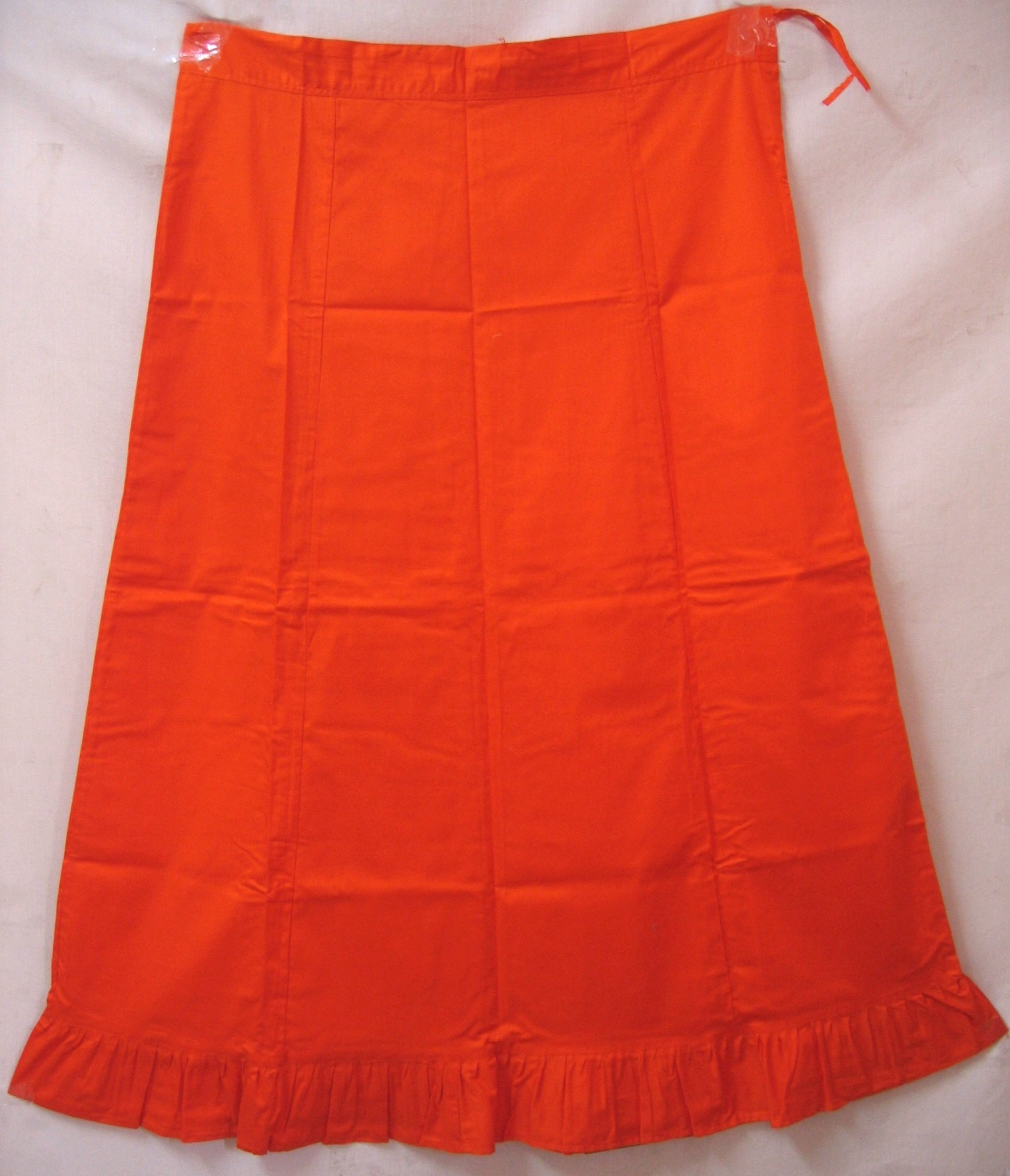 Indian sari petticoat