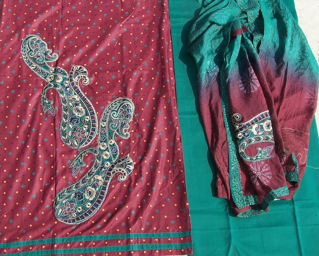 Indian salwar kameez 38