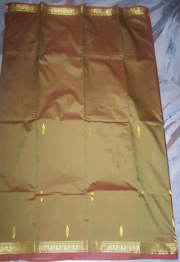 Sari with blouse and petticoat 15
