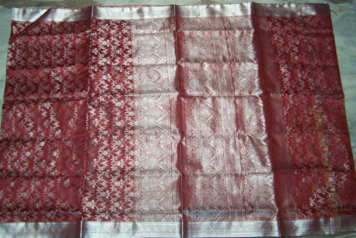 Sari with blouse and petticoat 58