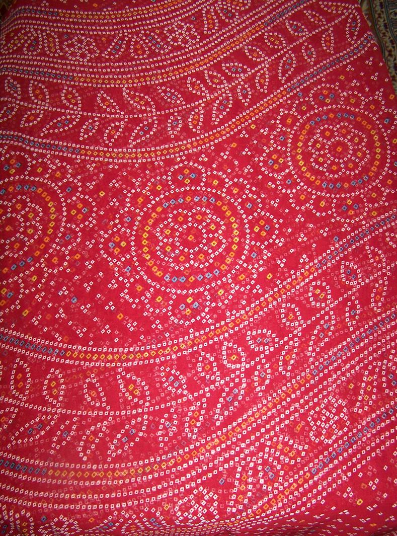 Sari with blouse and petticoat 63