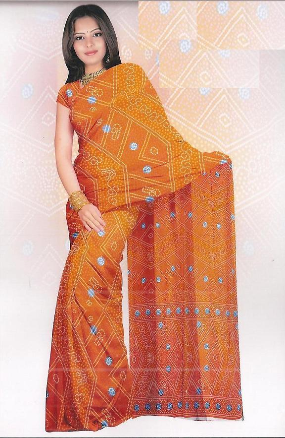 Sari with blouse and petticoat 67