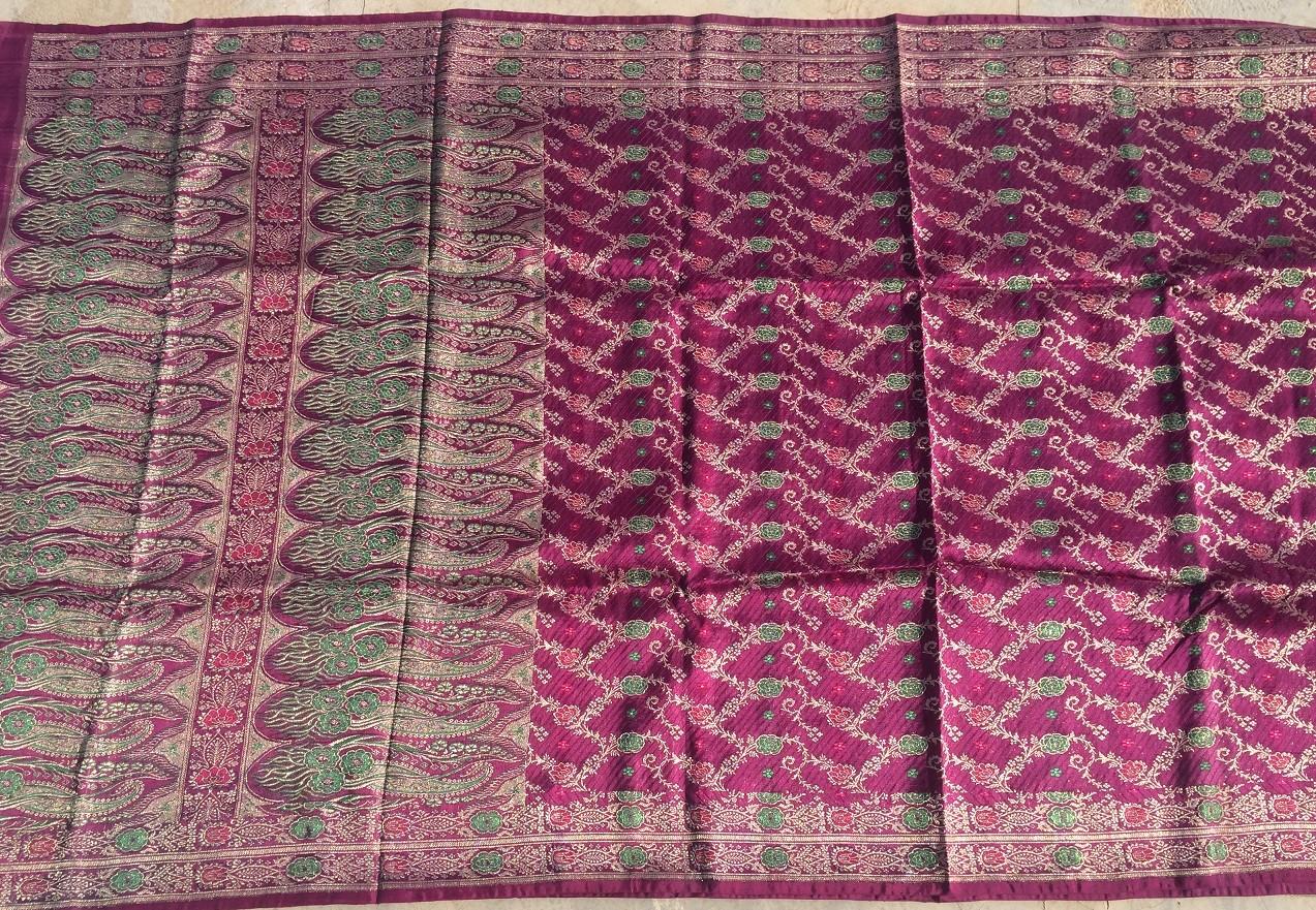 Used silk sari 34