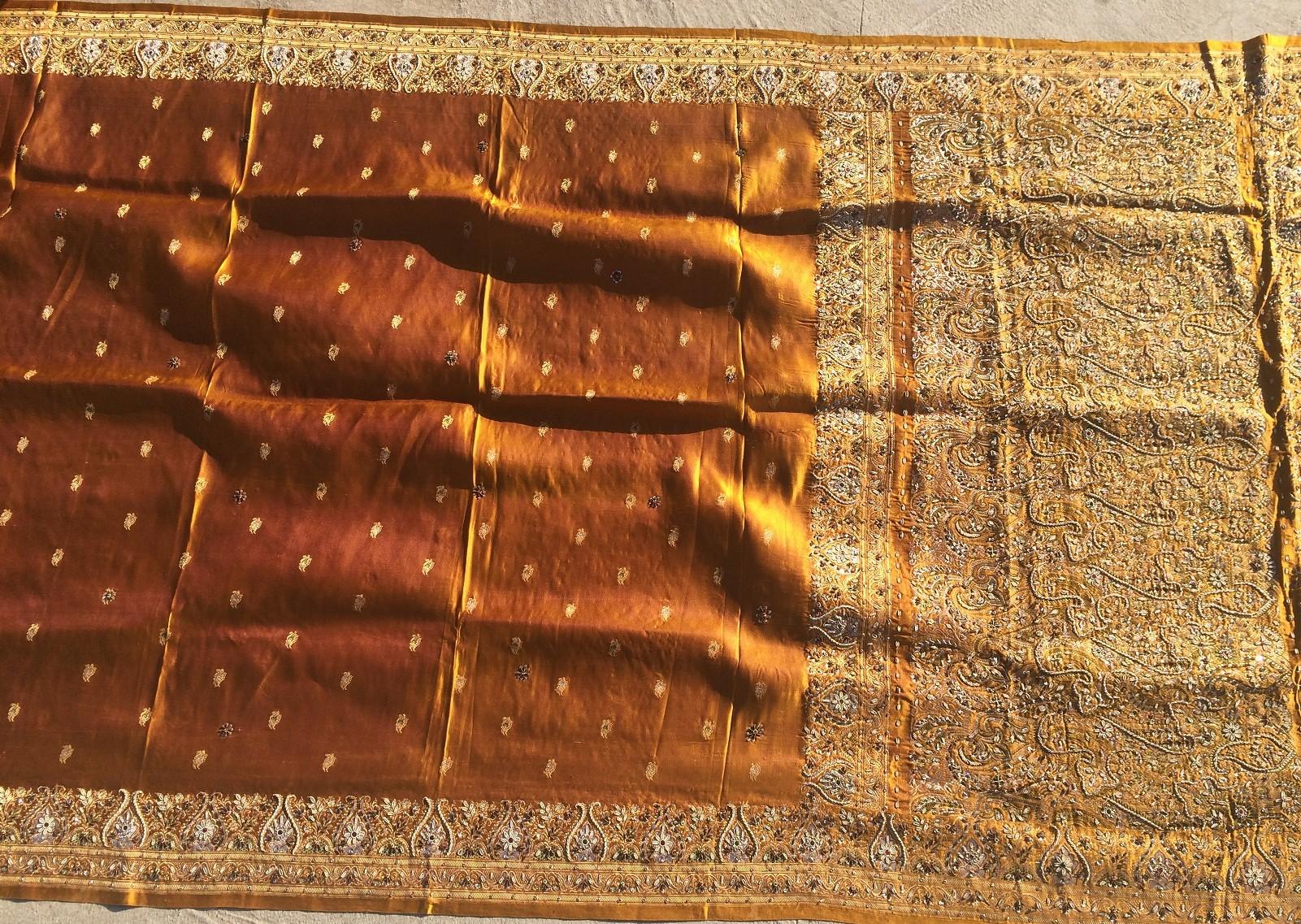 Used silk sari 18