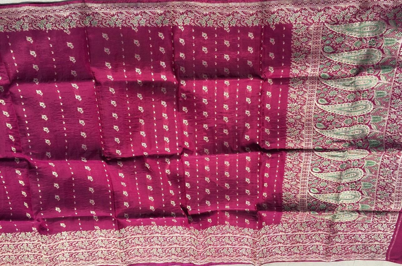 Used silk sari 21