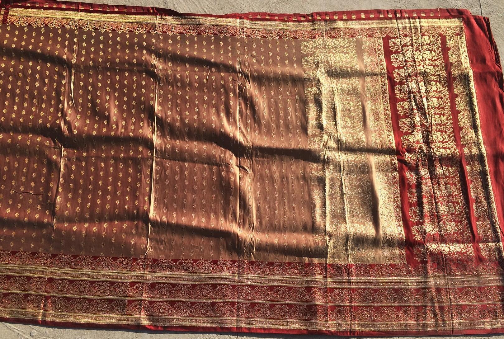Used silk sari 24