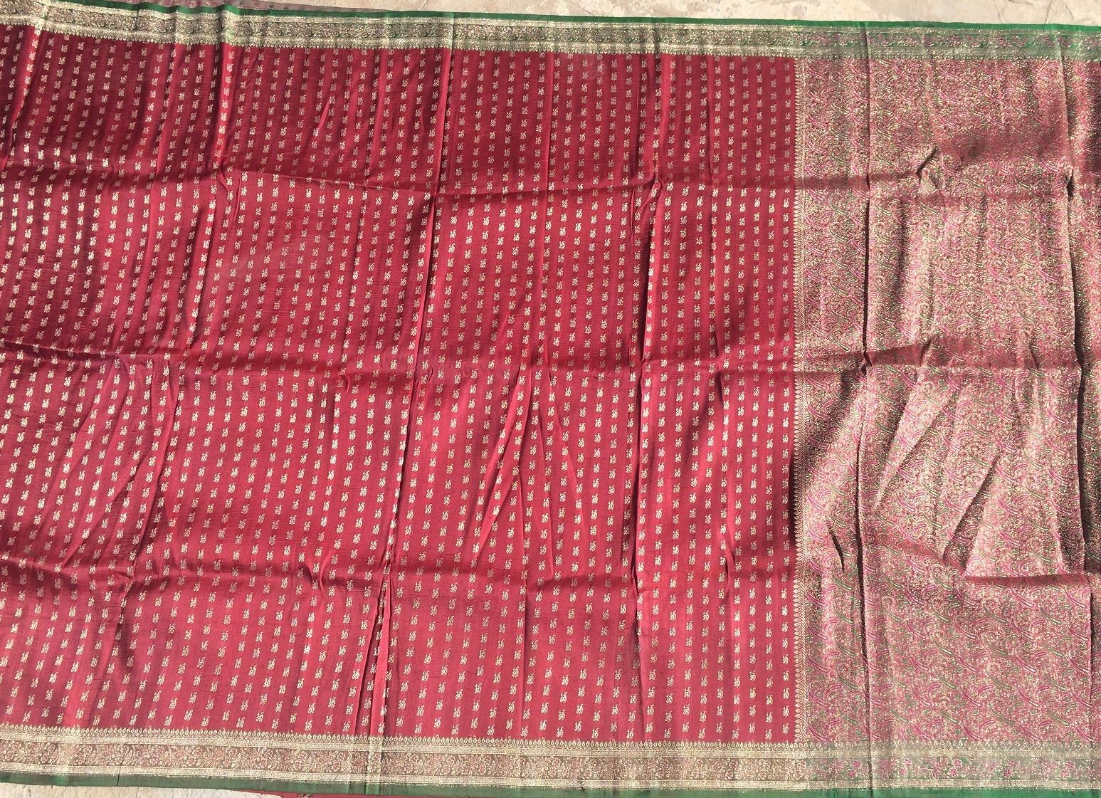 Used silk sari 26