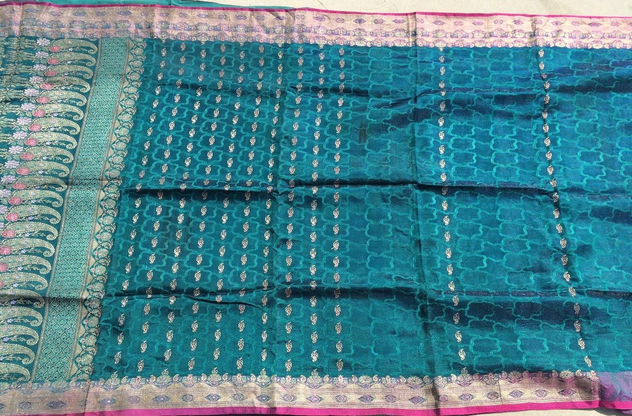 Used silk sari 28
