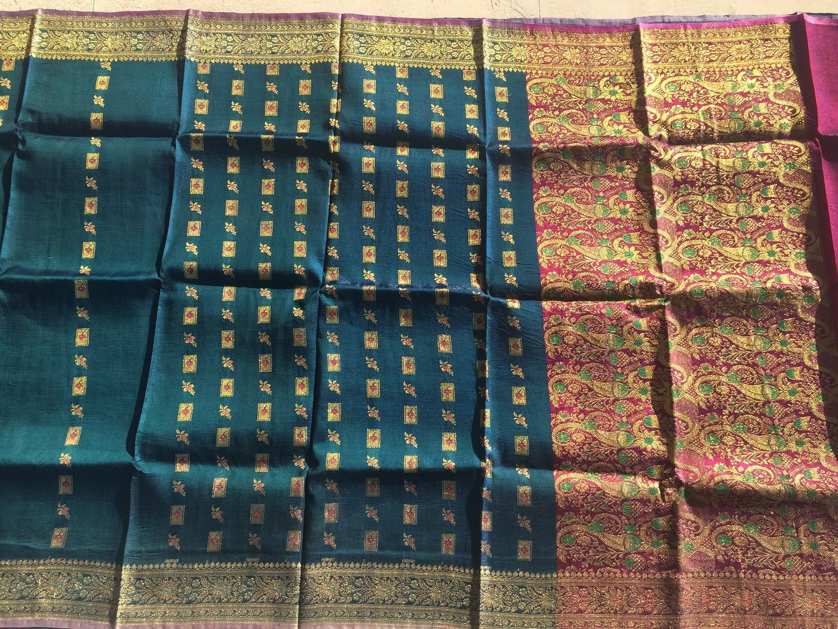 Used silk sari 3