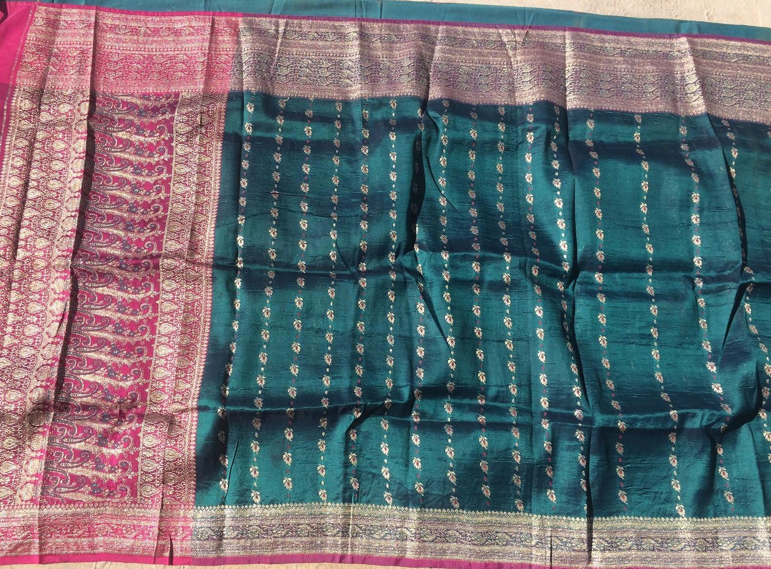Used silk sari 31