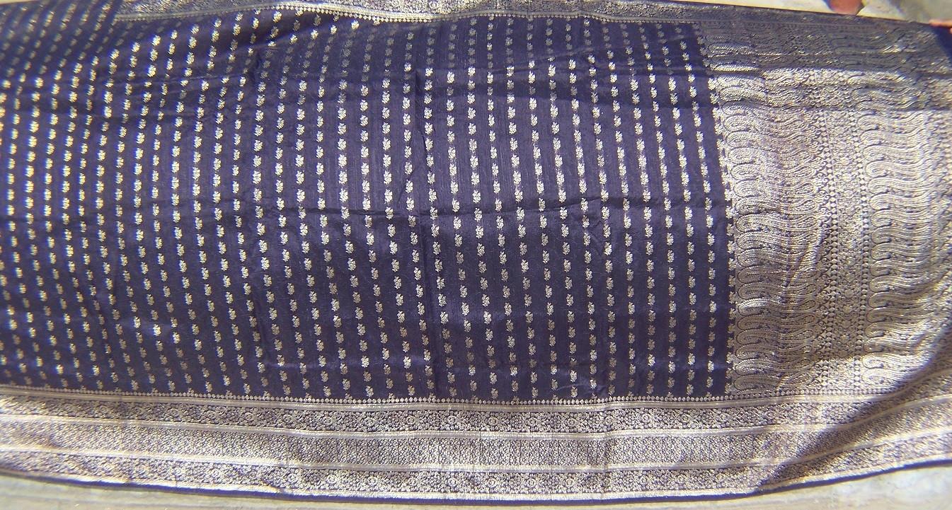 Used silk sari 39