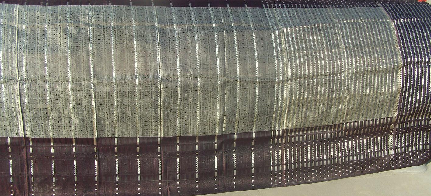 Used silk sari 41
