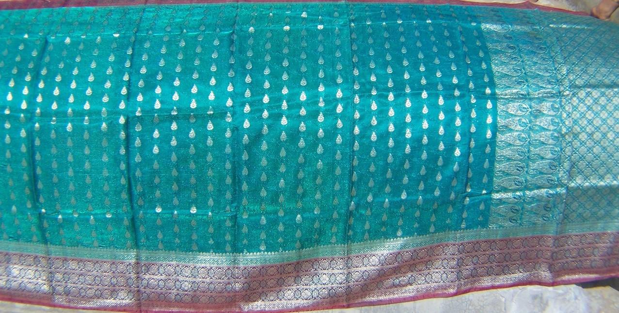 Used silk sari 44