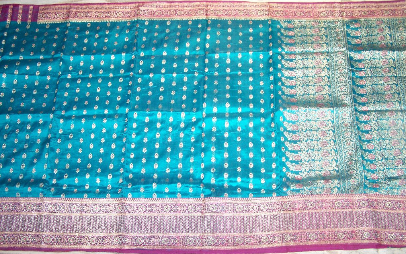 Used silk sari 48