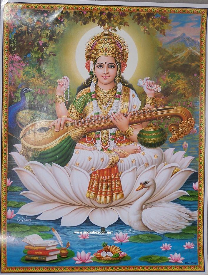 Saraswati Idol