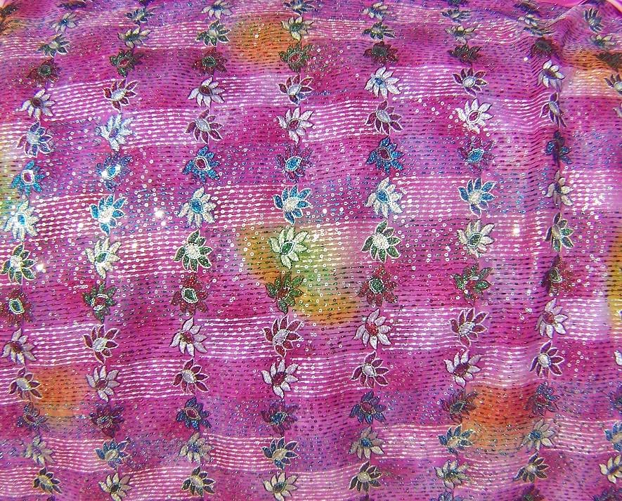 sequin fabric 105