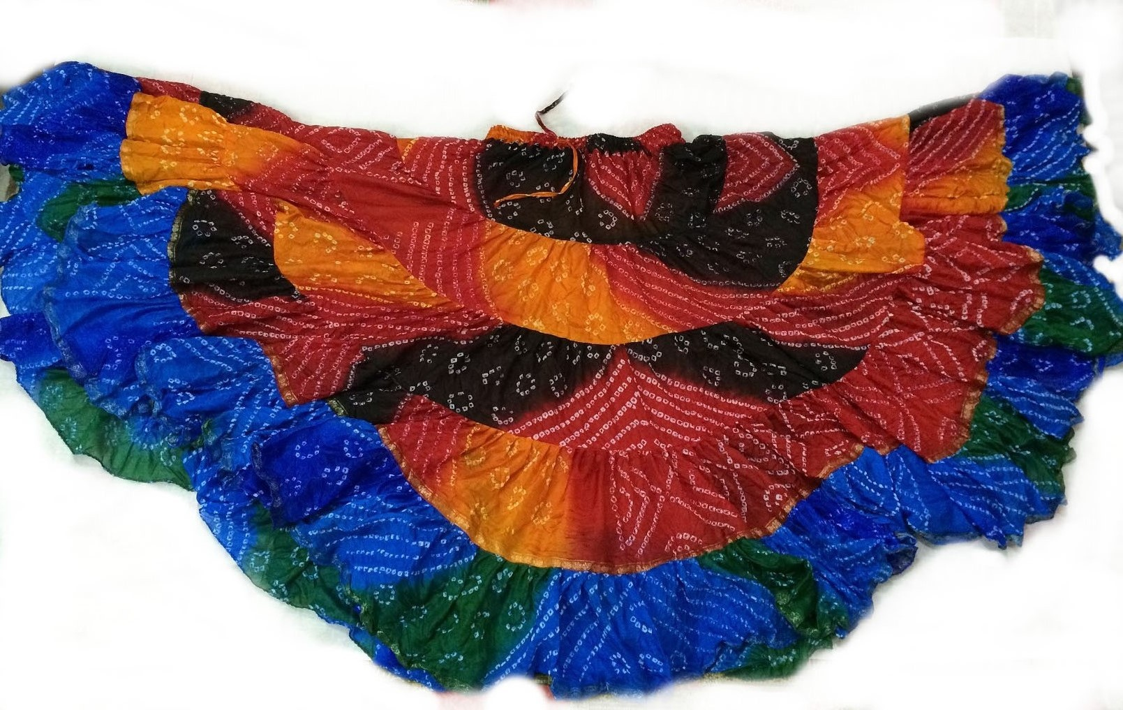 Rainbow gypsy skirt 106