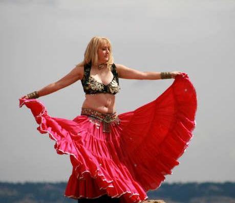 15-yard shisha gypsy skirt