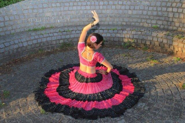 25-yard jaipur skirt