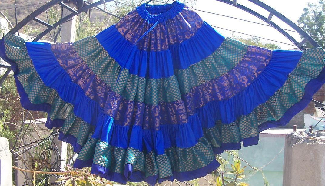 Belly dance 25 yard gypsy skirt 94