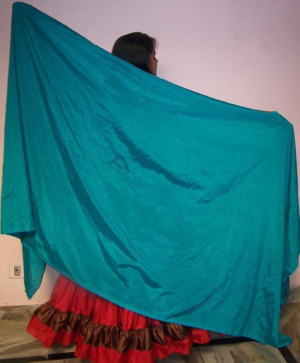 3-yard semil silk veil