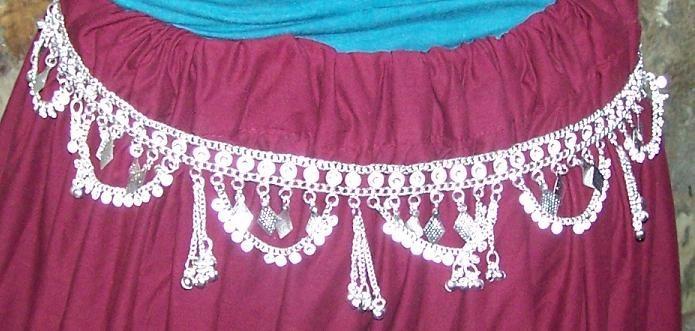 Tribal  waist hips belt-11