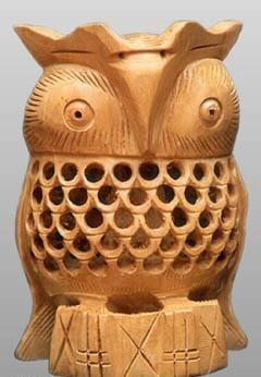 Wooden Owl 1