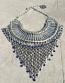 Tribal kuchi necklace 46