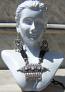 Tribal kuchi necklace 116
