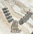 Tribal kuchi necklace 124