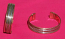 Tribal kuchi copper cuff 15