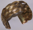 Tribal brass cuff 5