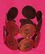 Tribal copper cuff 14