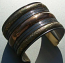 Tribal brass cuff 16