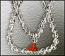 Crystal Mala-Diamond Cut