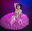 Belly dance silk circle skirt