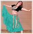 15-yard cotton gypsy skirt