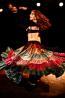 25-yard sari gypsy skirt